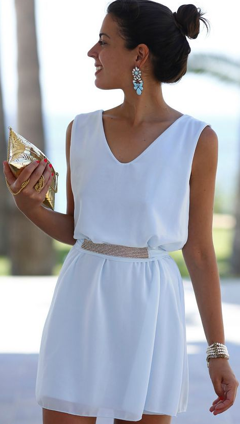 total white look 11