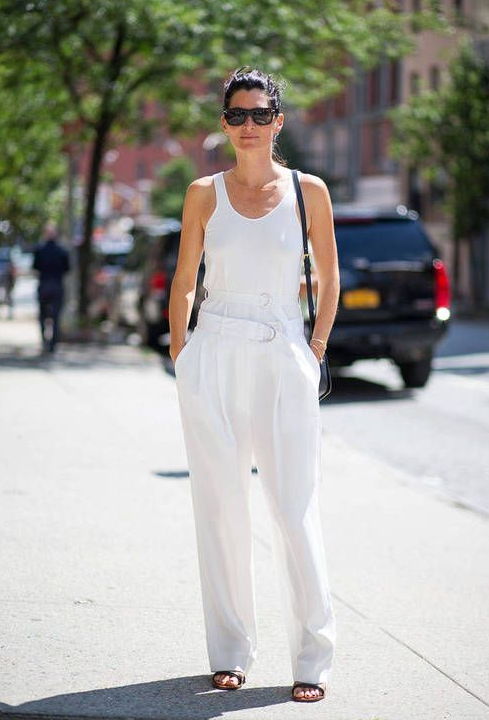 total white look 6