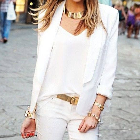 total white look 7
