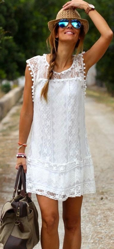 total white look 9