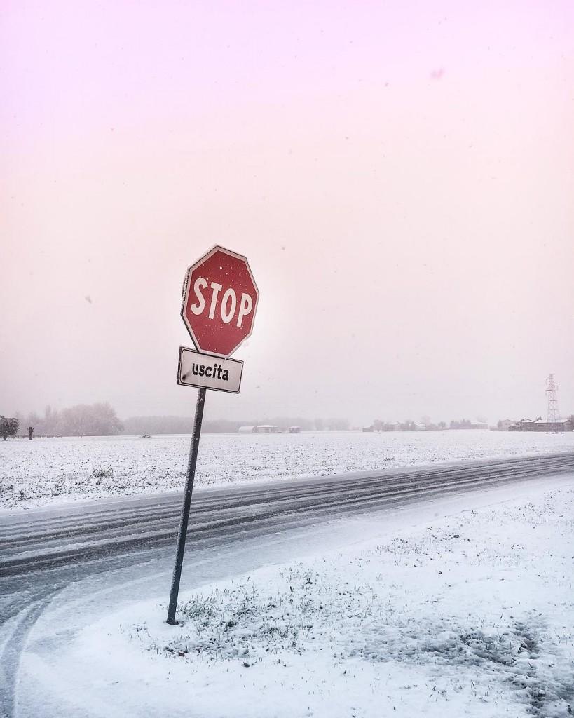 Frozen monday  Desideravo la neve da tempo Ed hellip