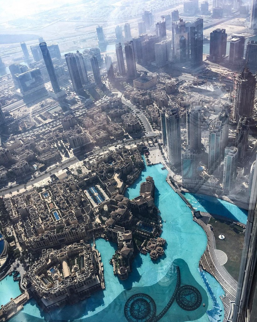 Amazing view from The Top of Burj Khalifa In questahellip